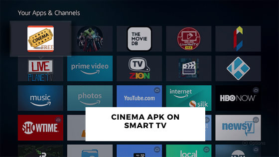 Cinema APK on Smart TV